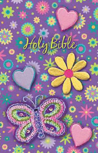 1400322367 | NKJV Shiny Sequin Bible Purple Flex Cloth