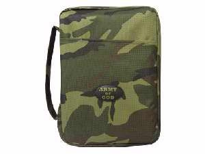 053674 | Bible Cover  Canvas Army Of God