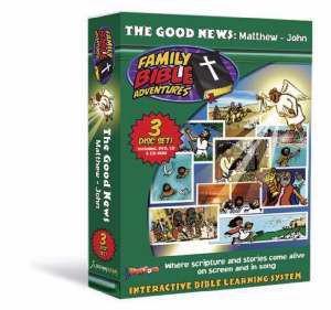 807622102071 | DVD Family Bible Adventures Cirriculum W/2 CD