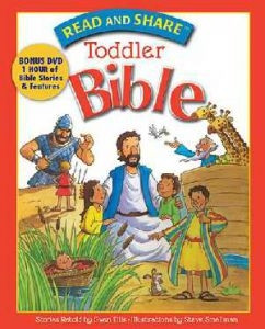 140031464X | Read And Share Toddler Bible w/DVD