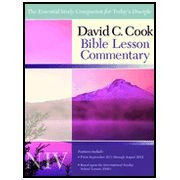 1434700682 | NIV David C Cook Bible Less Commentary 11-12