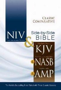 0310436761 | NIV KJV NASB Amplified Classic Comparative Side-by-Side Bible