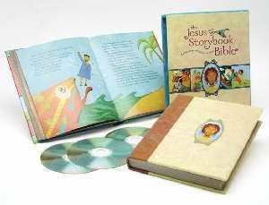0310718783 | Jesus Storybook Bible with CD (Deluxe Edition)