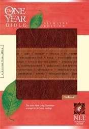1414338635 | NLT2 One Year Bible Slimline