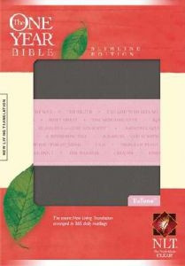1414338643 | NLT2 One Year Bible Slimline