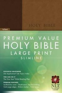 1414369905 | NLT2 Premium Value Large Print Slimine Bible