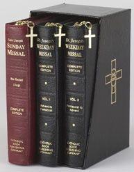 089942838X | NAB St Joseph Complete Missal Set: Sunday Missal Vol 1 & 2 Weekday Missal