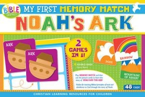 1630584436 | My First Memory Match Game: Noah's Ark Boxed Puzzle