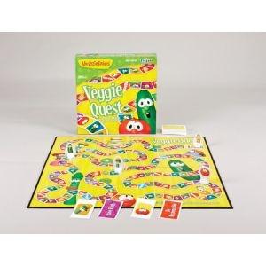 062566 | Game -Veggie Tales: VeggieQuest Board