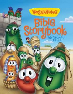 0310710081 | NIrV VeggieTales Bible Storybook With Scripture from the NIrV