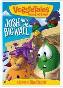 820413113391 | DVD Veggie Tales: Josh & The Big Wall