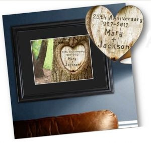 GC987 | Personalized Endless Love Anniversary Print
