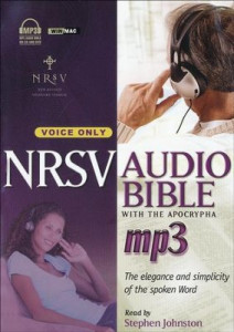 1598569538 | NRSV Audio Bible with the Apocrypha on MP3