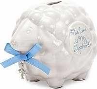 085253 | Bank Lord Is My Shepherd Lamb Blue