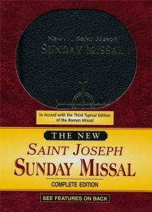 0899428185 | New Saint Joseph Sunday Missal