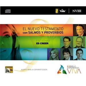 0829759018 | Biblia NVI Experiencia Viva: Nuevo Testamento, Salmos y Prov. (NVI Live Experience Bible: NT, Psalms & Prov.), Audio CDs