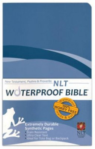 1609690109 | NLT2 Waterproof Bible New Testament with Psalms & Proverbs Blue Wave