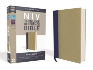 0310449553 | NIV Thinline Reference Bible Large Print
