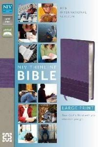 0310435994 | NIV Thinline Large Print Bible