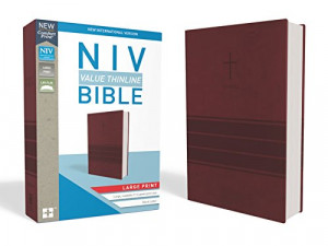 0310448522 | NIV Thinline Large Print Bible