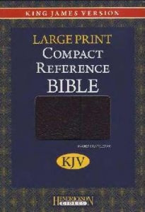 1598561278 | KJV Large Print Compact Reference Bible with Magnetic Closure
