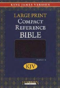 1598561189 | KJV Compact Reference Large Print