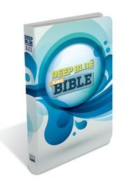 1609261178 | CEB Deep Blue Kids Bible White Splash