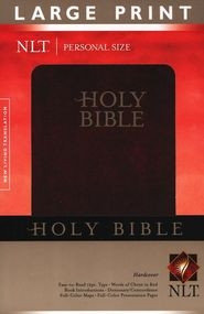 1414314051   NLT Personal Size Bible Large Print hardcover