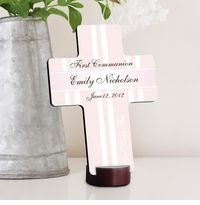 GC782 - God Bless | Personalized First Communion God Bless the Children Cross