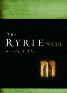 0802484689   NASB Ryrie Study Bible