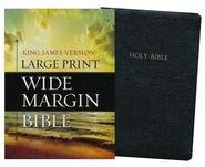 1619701138 | KJV Large Print Wide Margin Bible