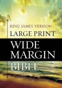 1619700891 | KJV Large Print Wide Margin Bible