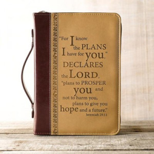 362335 | Bible Cover I Know The Plans