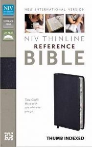0310436303 | NIV Thinline Reference Bible Thumb Indexed