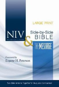 0310436850   NIV and The Message Side-by-Side Bible
