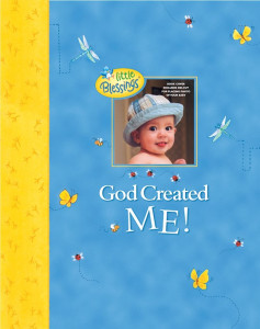 Baby Book Our Baby Memory Book God Created Me