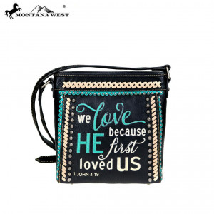 159127 | Crossbody Bag We Love Because He First Loved Us