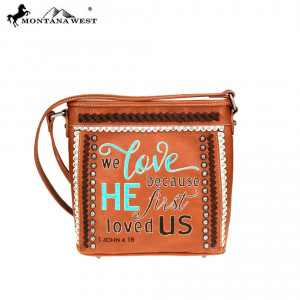 159125 | Crossbody Bag We Love Because He First Loved Us