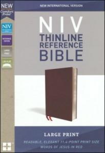0310449561 | NIV Thinline Reference Bible Large Print (Comfort Print)
