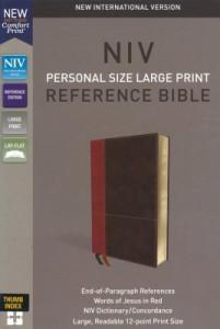 0310449731   NIV Personal Size Large Print Reference Bible