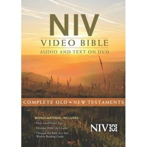 9781619700994 | NIV Video Bible: Audio and Text on DVD