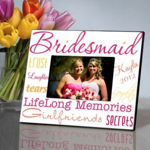 GC859 | Personalized Kaleidoscope Bridesmaid Picture Frame