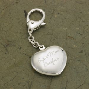 GC636MD | Personalized Heart Key Chain for Mom