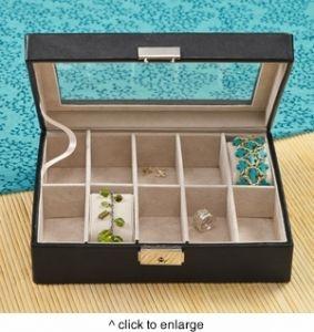 GC1083 | Personalized Women's Jewelry Box