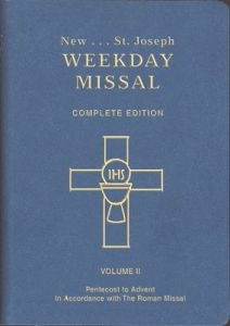 9780899429328 | St. Joseph Weekday Missal, Complete Edition, Volume 2, Pentecost to Advent