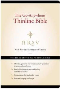 0061979171 | NRSV Go Anywhere Thinline Bible