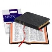 0521706211   NKJV Pitt Minion Reference Bible Black Goatskin Leather