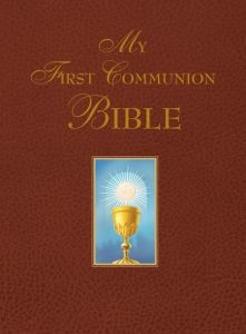 161890003X | My First Communion Bible (Burgundy)
