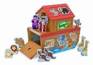 307860 | Toy Noah's Ark Playset & Shape Sorter