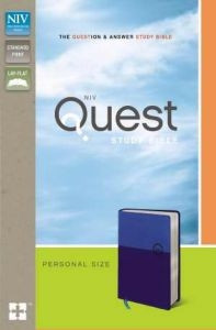 0310949688   NIV Quest Study Bible Personal Size